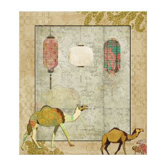 Dreamy Camels Canvas Art Canvas Prints