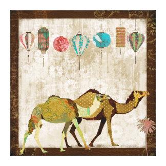 Dreamy Camels Journey Canvas Art Canvas Prints