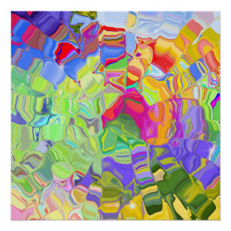Dreamy Colorful Abstract