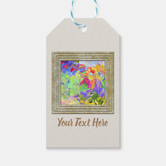 Dreamy Colorful Abstract Gift Tags
