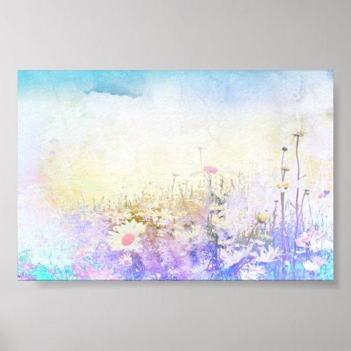 Dreamy daisies print