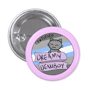 Dreamy Demiboy 3 Cm Round Badge