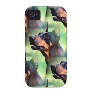 Dreamy Doberman Painting iPhone 4/4S Case