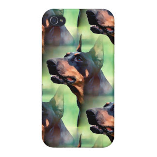 Dreamy Doberman Painting iPhone 4/4S Cases