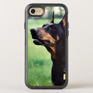 Dreamy Doberman Pinscher Face Painting OtterBox Symmetry iPhone 7 Case