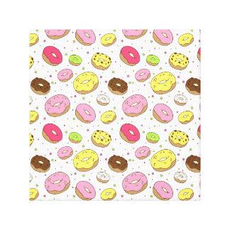 Dreamy Donuts Canvas Print