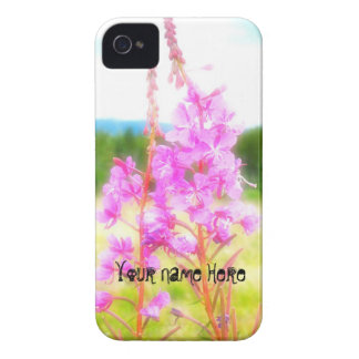 Dreamy Fireweed; Customizable iPhone 4 Case