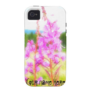 Dreamy Fireweed Customizable Case For The iPhone 4