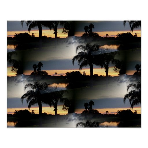 Dreamy Florida Sunset Posters