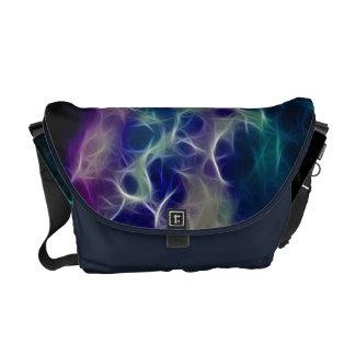 Dreamy Fractal Astral Design Messenger Bags