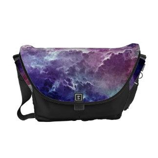 Dreamy Fractal Nebula Design Commuter Bags