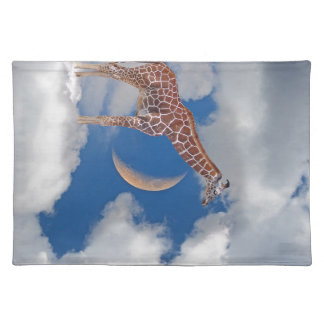 Dreamy Giraffe Placemat