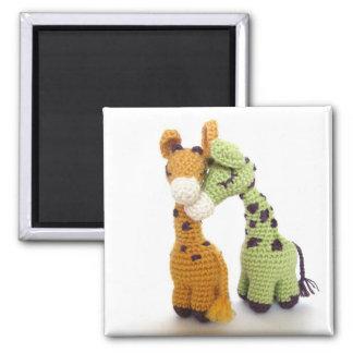 Dreamy Giraffes Magnet
