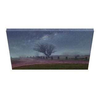 dreamy heavenly moors canvas print