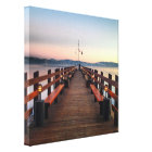 Dreamy Lake Tahoe Canvas Print