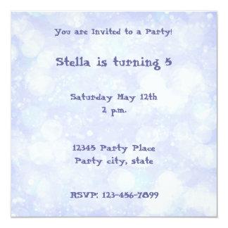 Dreamy Lilac Personalized Invitation