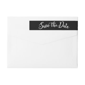 Dreamy Love EDITABLE COLOR Save The Date Label