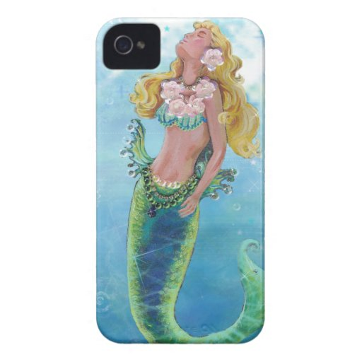 Dreamy Mermaid Painting Blackberry Bold Cover