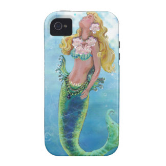 Dreamy Mermaid Painting Vibe iPhone 4 Covers