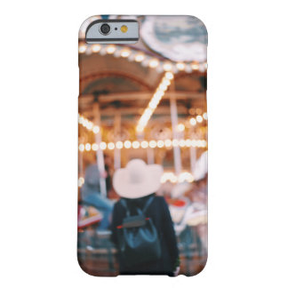 Dreamy NYC Brooklyn Merry Go Round Girl Barely There iPhone 6 Case
