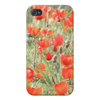 Dreamy Poppies i Covers For iPhone 4