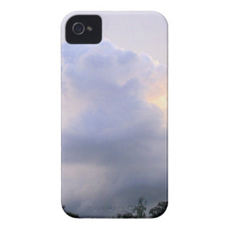 Dreamy Purple Clouds iPhone 4 Cover