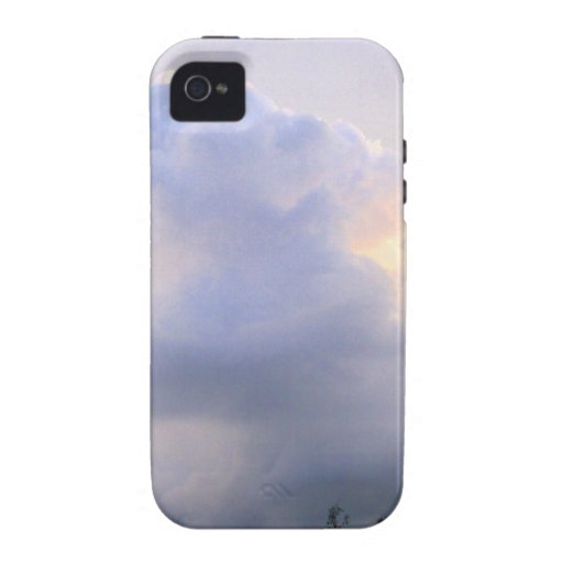 Dreamy Purple Clouds Vibe iPhone 4 Cover