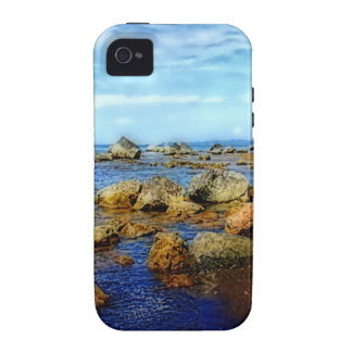 Dreamy Rocky Tropical Beach Vibe iPhone 4 Cover