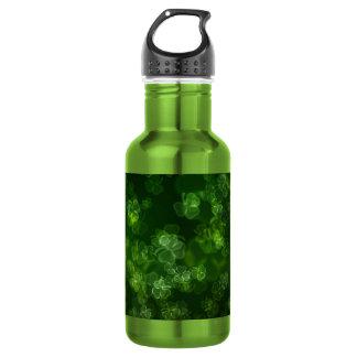 Dreamy Shamrocks Abstract 532 Ml Water Bottle