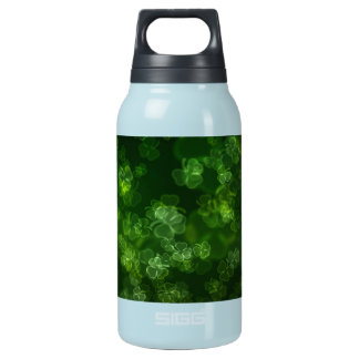 Dreamy Shamrocks Abstract Insulated Water Bottle