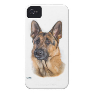 Dreamy Shepherd Dog iPhone 4 Case-Mate Cases