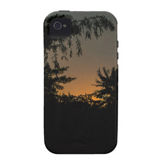 Dreamy Sunset Design Vibe iPhone 4 Cases