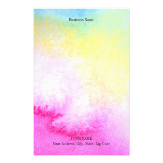 Dreamy Watercolor Personalised Stationery