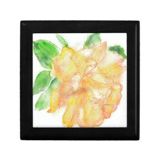 Dreamy Watercolor Rose Gift Box