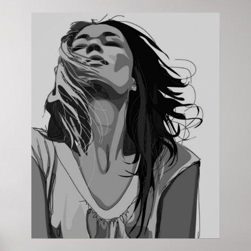 Dreamy Woman Poster