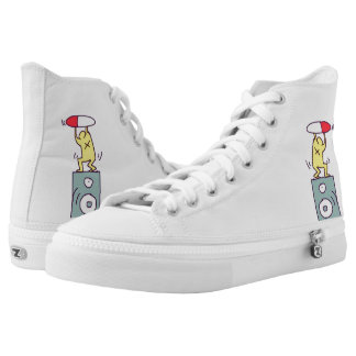 DreamySupply Drug Party Pop Art Hightop Zipz Shoes