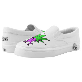 DreamySupply Going Green Slip On Zipz Shoes