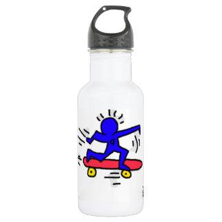 DreamySupply Pop Art SkateBoard Man Water Bottle 532 Ml Water Bottle
