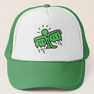 DreamySupply SuperFly Pop Art Green SnapBack Trucker Hat