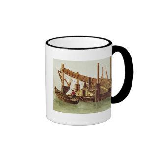Dredging a canal mug