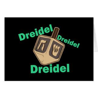 Dreidel Dreidel Dreidel Card