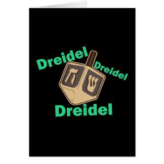 Dreidel Dreidel Dreidel Greeting Cards