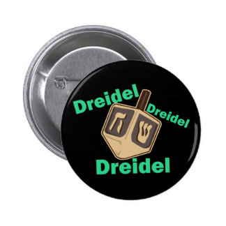 Dreidel Dreidel Dreidel Pinback Buttons