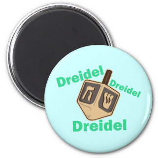 Dreidel Dreidel Dreidel Refrigerator Magnet