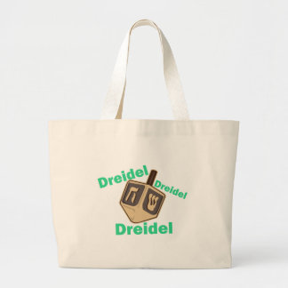 Dreidel Dreidel Dreidel Tote Bags