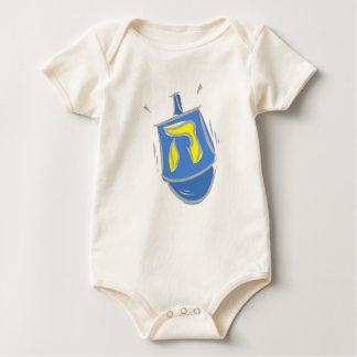 Dreidel Hey Baby Bodysuit