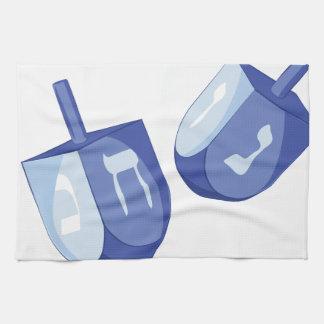 Dreidels Tea Towel