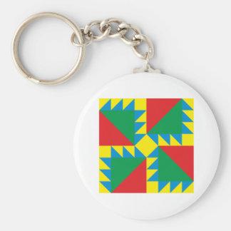 Dreiecke Quadrat triangles square Schlüsselanhänger