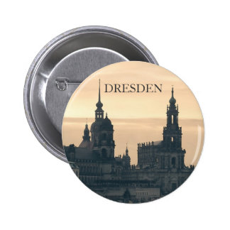 Dresden at Sunset 6 Cm Round Badge