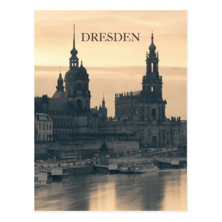 Dresden at Sunset Postcard